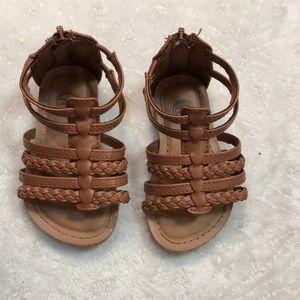 Wonder Nation girls sandals size 5